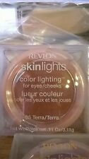 REVLON SKINLIGHTS COLOR LIGHTING FOR EYES / CHEEKS #05 TERRA FRESH/NEW IN BOX