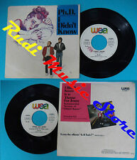 LP 45 7'' PH.D. I didn't know Theme for jenny 1983 italy WEA 25 9996-7 cd mc*dvd