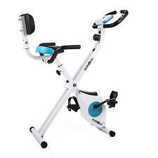Hogar entrenador asviva h14 blanco Sport bicicleta estática fitness bicicleta ergo metros x Bike