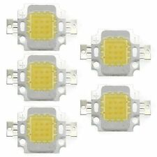 5x High Power 10W LED Chip Birne Licht Lampe DIY Weiss 750LM 6500K GY
