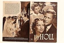 IFB Nr.1118 Filmbühne Programm Dr. Holl 1950er mit Carl Wery Maria Schell