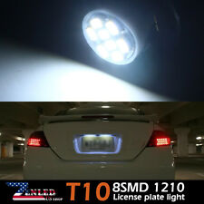 4x License Plate Interior LED Light Bulb 168 194 920 W5W 192 2825 T10 8SMD White
