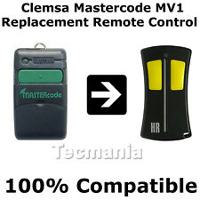 Clemsa Mastercode MV1 Universal Cloning Remote Control Transmitter Fob 433 MHz