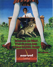 PUBLICITE ADVERTISING 054 1972 NARVAL tabac à rouler