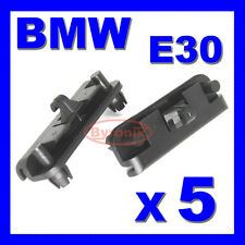 Bmw E30 Parachoques Delantero Spoiler Delantal Falda Trim Clips abrazadera Clip para la franja inferior