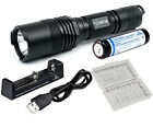 NITECORE MT26 Multi-Task LED Flashlight 800 Lumens + 18650 + MC1 charger + Case