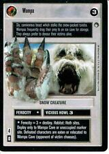 STAR WARS CCG HOTH BLACK BORDER DARK SIDE RARE WAMPA