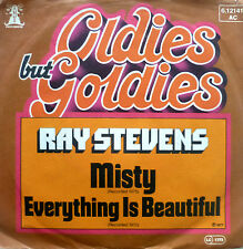 """7"""" 70s VG++ RAY STEVENS Misty + Everything Is Beautiful"""