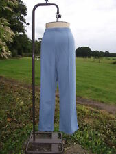 Flattering CLASSICS Blue Pull On Stretch Trousers Plus Size 28 BNWT