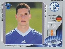 N°113 DRAXLER # DEUTSCHLAND SCHALKE 04  CHAMPIONS LEAGUE 2013 STICKER PANINI