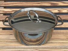 Tramontina 5 Qt Inox 18/10 Stainless Steel Cooking Pot with Lid Dutch Oven