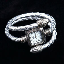 Stylish Gift Lady Women Girl Snake Style Bangle Bracelet Quartz Wrist Watch GP