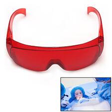 New Red Goggle Glasses Protective Eye Curing Light Whitening UV Dental Dentist
