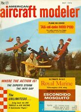 1970 American Aircraft Modeler Magazine: All-In-One Mod Pod/Royal Marine/Racing