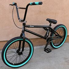 "2017 FIT BIKE CO NORDSTROM 1 BMX 20"" BICYCLE GLOSS BLACK SUNDAY CULT KINK HARO"