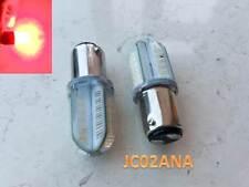 Vendita nel Regno Unito - 2 x 1157 p21/5w bay15d GEL COB LED Rosso Brake Stop Coda Luce Lampada Lampadine