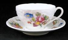 Coalport SEVRES GROUP Cup & Saucer Vintage Embossed No Trim GOOD CONDITION