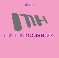 CD Minimal House Scatola di Various Artists 4CDs