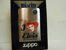 Zippo I Love Elvis Lighter~ Made in the USA