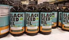 Organic  Black seed oil  2 Bottles glass (100% Pure Cold-Pressed )(Made in USA