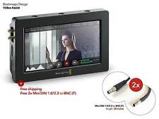 "NEW Blackmagic Video Assist 5"" HDMI SDI Monitor & SDHC Recorder for Camera/DSLR"