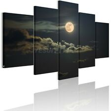 US STOCK HD Canvas Print Home Decor Wall Art Painting-Moon Landscape Framed