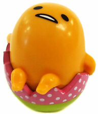 "NEW Gudetama Roly Poly Colorful Egg Plastic Toy Red 2"" AMU-PRZ7218S US Seller"