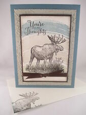 "Stampin Up ""Walk in the Wild"" Handmade Any Occasion Card"