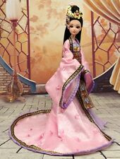 NEW RARE OOAK Chinese Collectible Toy Dolls Princess New Moon Violet Free USship