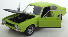 Minichamps 1970 Ford Capri I RS 2600 Light Green 1/18 Scale New! LE of 756 New!