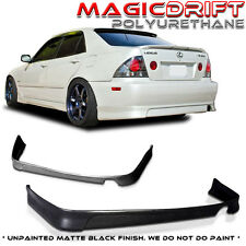 NEW JDM TR Style Rear Bumper Lip Urethane Plastic for 01-05 LEXUS IS300