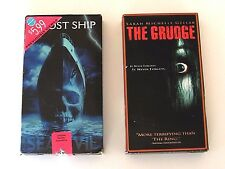 The Grudge Ghost Ship VHS Scary Horror Movies Films Sea Evil Gellar Margulies