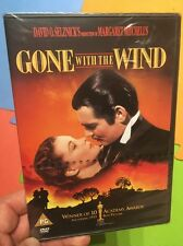 Gone With The Wind-Clark Gable Vivien Leigh(Region2 DVD)New+Sealed MGM Classic