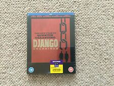 Django Unchained - UK Blu-ray Steelbook - Quentin Tarantino - New and Sealed