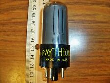 Strong Ratheon Black Glass 6V6GT Tube