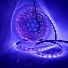 5M DC 12V Ultraviolet UV LED Blacklight Waterproof IP65 Night Fishing Strip Lamp