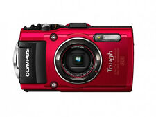 Olympus Stylus Tough TG-4 16MP Digital Camera Red Waterproof HD WiFi / GPS NEW