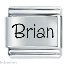 Brian nome-DAISY CHARMS da JSC accoppiamenti Classic Taglia Italiana Bracciale con Charm
