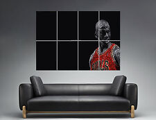 "Michael Jordan ""Change The Game"" Wall Art Poster Grand format A0 Large Print"