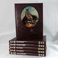 Lot of 6 The Old West Time Life Books Townsmen Chiefs Loggers Gamblers Railroad