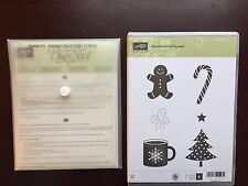 Stampin Up! Scentsational Season Stamp Set with Framelits! Excellent Condition!