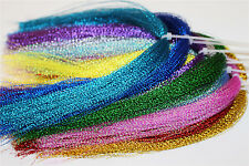 17 Assorted Colours Flashabou Crystal Flash Tinsel Flash Fly Tying Materials