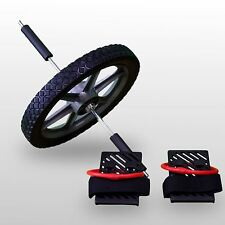 BodyRip POWER WHEEL AB CORE EXERCISE BACK LEGS TRAINING FITNESS STRENGTH WORKOUT