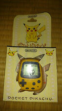Japanese nintendo GBA pocket pikachu tamagotchi cib new manuals, game, pokemon