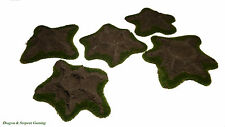 Resin Craters Set (x5) Wargames Rural Scenery/Terrain Flames of War Bolt Action