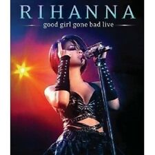 "RIHANNA ""GOOD GIRL GONE BAD LIVE"" BLU RAY NEU"