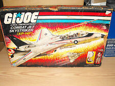 G.I.JOE, ACTION FORCE SKYSTRIKER XP-14F COMBAT JET, COMPLETE IN BOX (no paracute