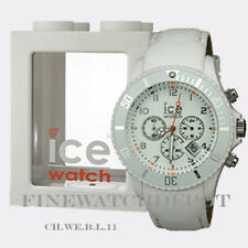 Authentic Ice Chrono White Big Watch CH.WE.B.L.11