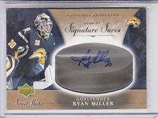 2006-07 UD SWEET SPOT SIGNATURE SERIES RYAN MILLER SABRES/CANUCKS/USA AUTO