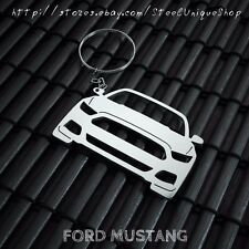 Ford Mustang Stainless Steel Keychain